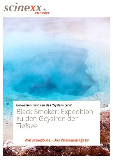 Black Smoker - Blick ins Buch