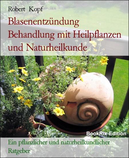 Blasenentzündung Behandlung mit Heilpflanzen und Naturheilkunde - Blick ins Buch