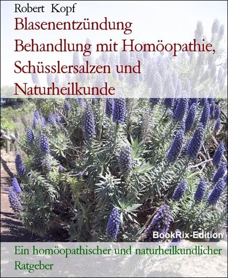 Blasenentzündung Behandlung mit Homöopathie, Schüsslersalzen und Naturheilkunde - Blick ins Buch