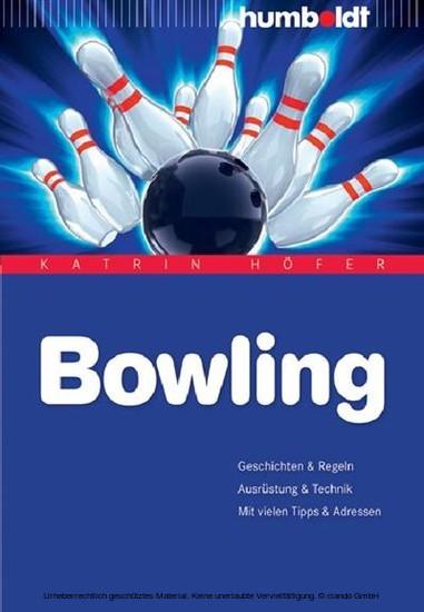 Bowling - Blick ins Buch