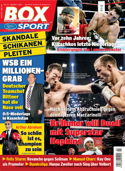 BoxSport 04/2014 - Blick ins Buch