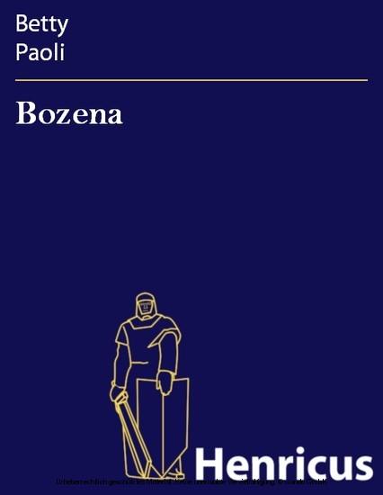 Bozena - Blick ins Buch