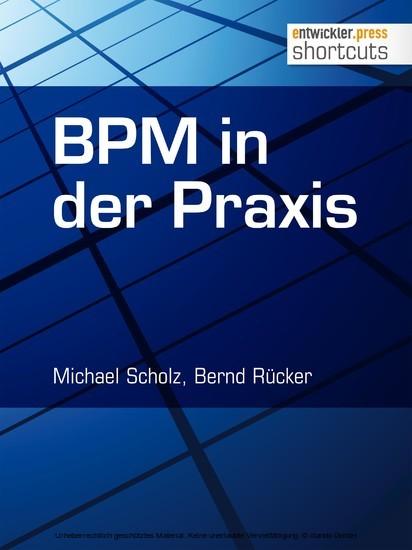 BPM in der Praxis - Blick ins Buch
