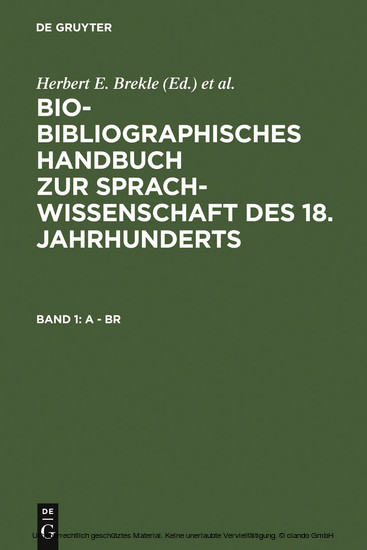 A - Br - Blick ins Buch