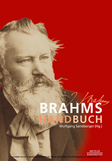 Brahms-Handbuch - Blick ins Buch