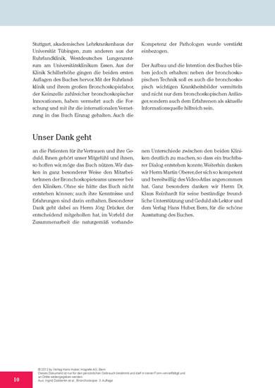 Bronchoskopie - Blick ins Buch