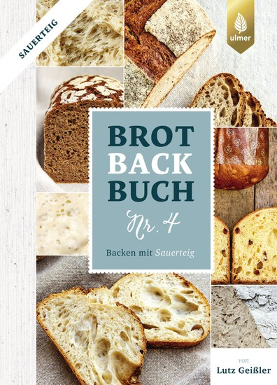 Brotbackbuch Nr. 4 - Blick ins Buch