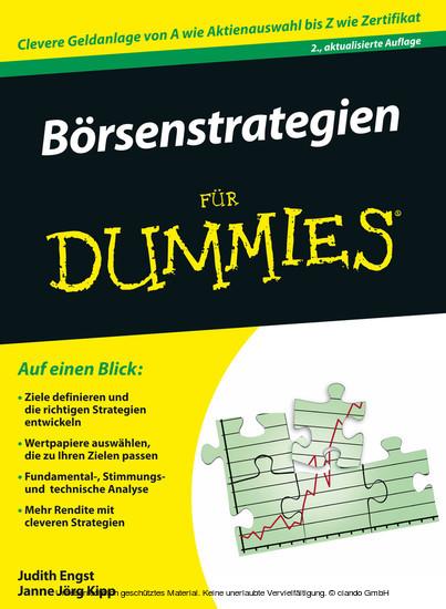 Brsenstrategien für Dummies - Blick ins Buch