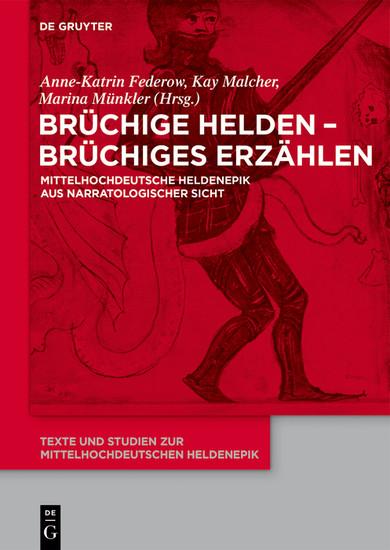 Brüchige Helden - brüchiges Erzählen - Blick ins Buch