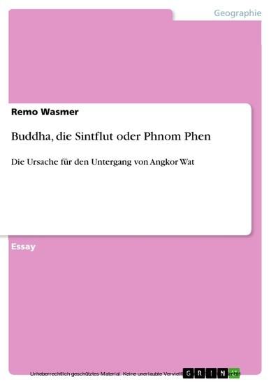 Buddha, die Sintflut oder Phnom Phen - Blick ins Buch