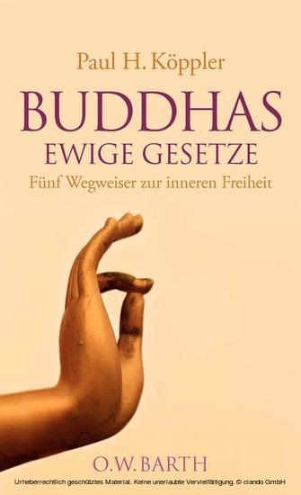 Buddhas ewige Gesetze - Blick ins Buch