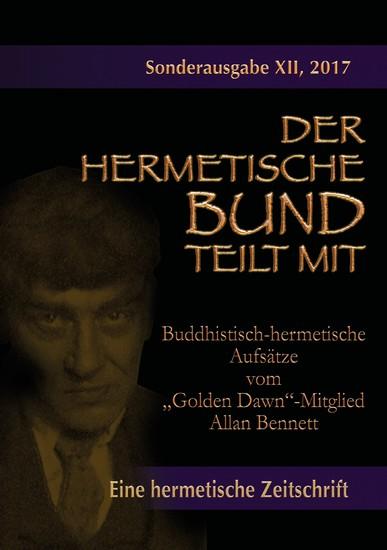 """Buddhistisch-hermetische Aufsätze vom """"Golden Dawn""""-Mitglied Allan Bennett - Blick ins Buch"""