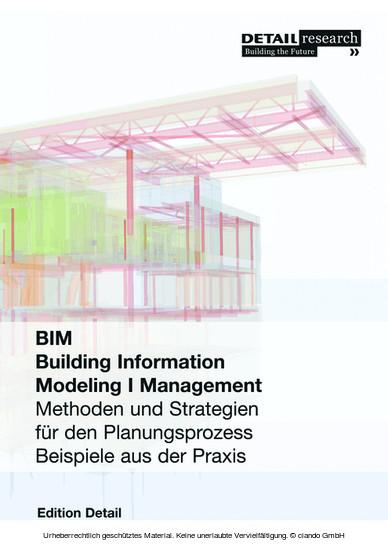 Building Information Modeling I Management - Blick ins Buch
