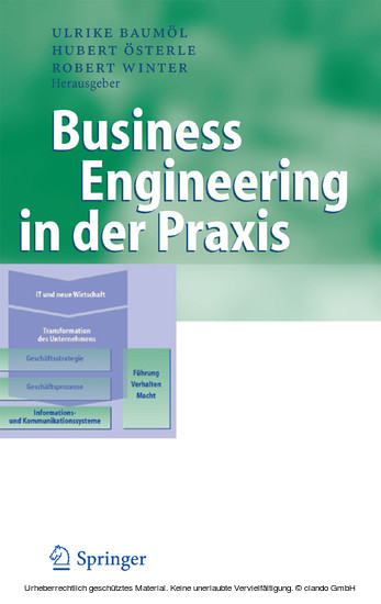 Business Engineering in der Praxis - Blick ins Buch