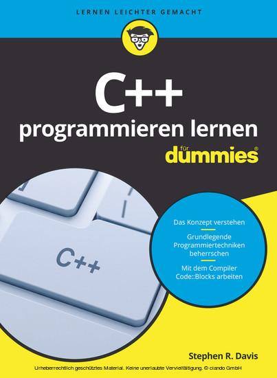 C++ programmieren lernen für Dummies - Blick ins Buch