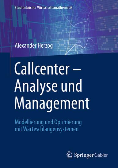 Callcenter - Analyse und Management - Blick ins Buch