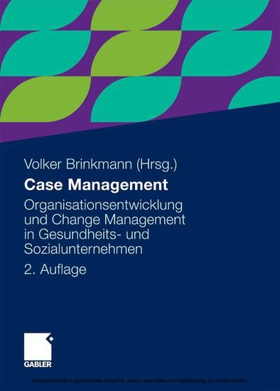 Case Management - Blick ins Buch