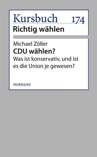 CDU wählen? - Blick ins Buch