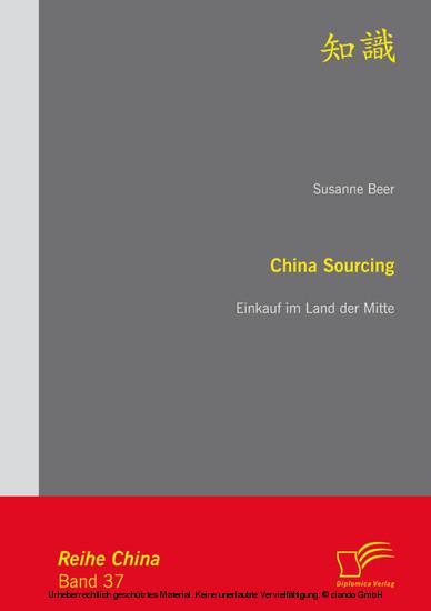 China Sourcing: Einkauf im Land der Mitte - Blick ins Buch