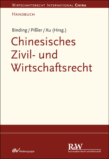 Chinesisches Zivil- und Wirtschaftsrecht - Blick ins Buch