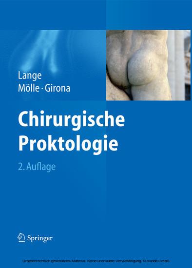Chirurgische Proktologie - Blick ins Buch