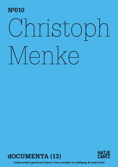 Christoph Menke - Blick ins Buch