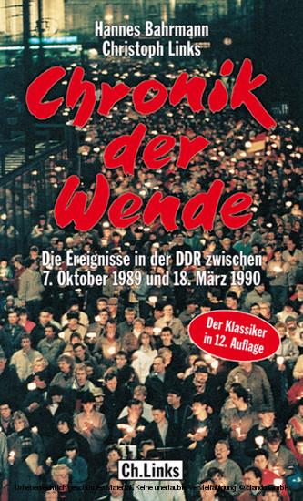 Chronik der Wende - Blick ins Buch