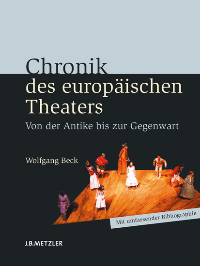 Chronik des europäischen Theaters - Blick ins Buch
