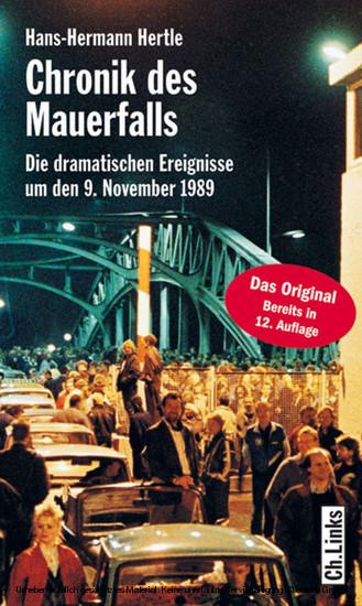 Chronik des Mauerfalls - Blick ins Buch