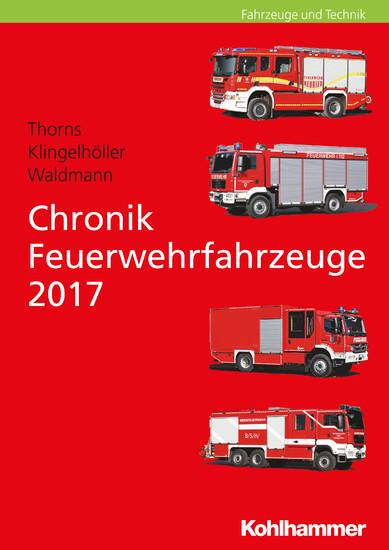 Chronik Feuerwehrfahrzeuge 2017 - Blick ins Buch