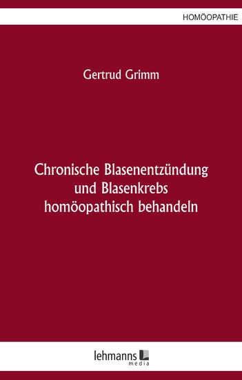 Chronische Blasenentzündung und Blasenkrebs - Blick ins Buch