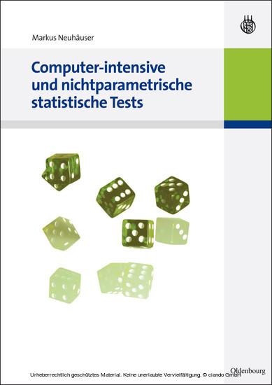 Computer-intensive und nichtparametrische statistische Tests - Blick ins Buch