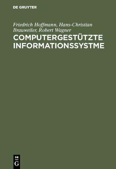 Computergestützte Informationssystme - Blick ins Buch