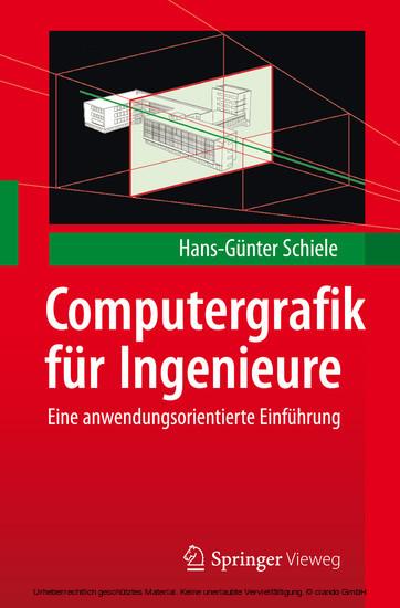 Computergrafik für Ingenieure - Blick ins Buch