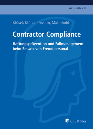 Contractor Compliance - Blick ins Buch