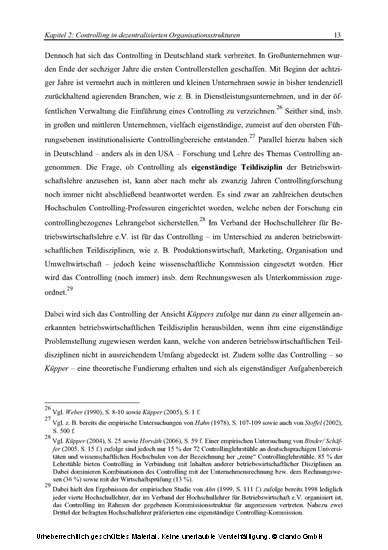 Controlling und Informationsmanagement in Strategischen Unternehmensnetzwerken - Blick ins Buch