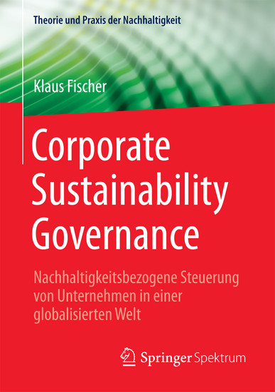Corporate Sustainability Governance - Blick ins Buch