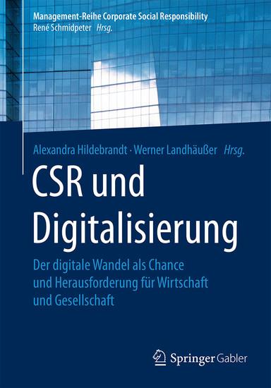 CSR und Digitalisierung - Blick ins Buch