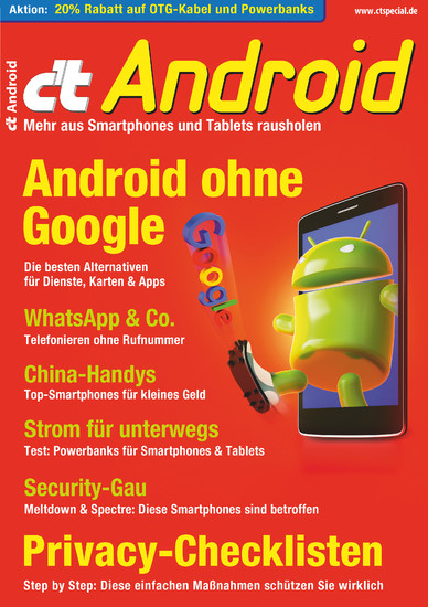 c't Android (2018) - Blick ins Buch