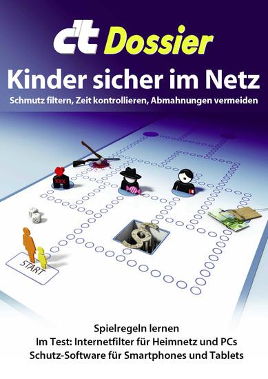 c't Dossier: Kinder sicher im Netz - Blick ins Buch
