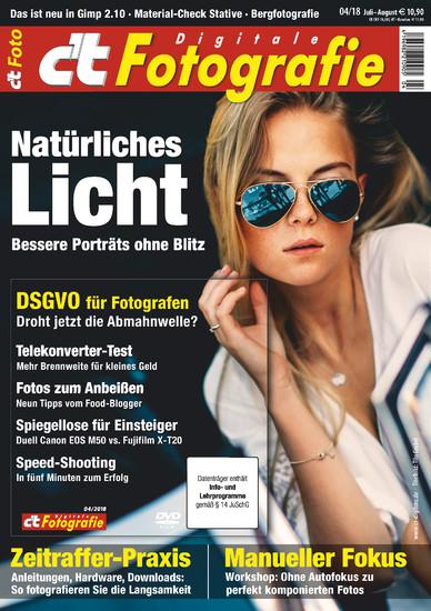 c't Fotografie 4/2018 - Blick ins Buch