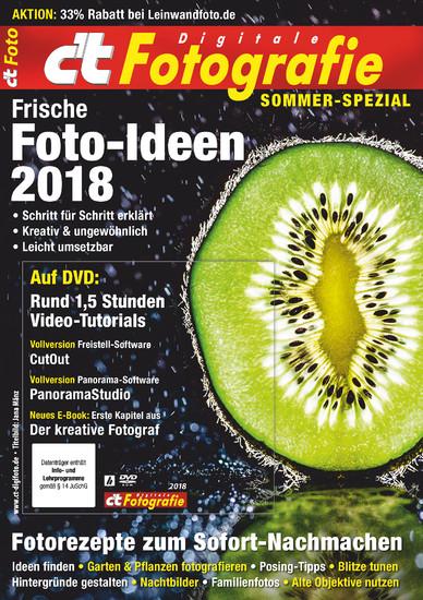 c't Fotografie Sommer-Spezial 2018 - Blick ins Buch