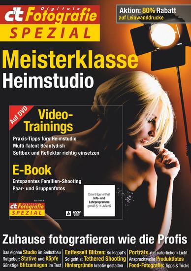 c't Fotografie Spezial: Meisterklasse Edition 8 - Blick ins Buch