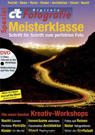c't Fotografie Spezial: Meisterklasse - Blick ins Buch
