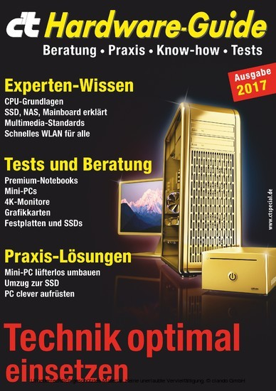 c't Hardware-Guide - Blick ins Buch