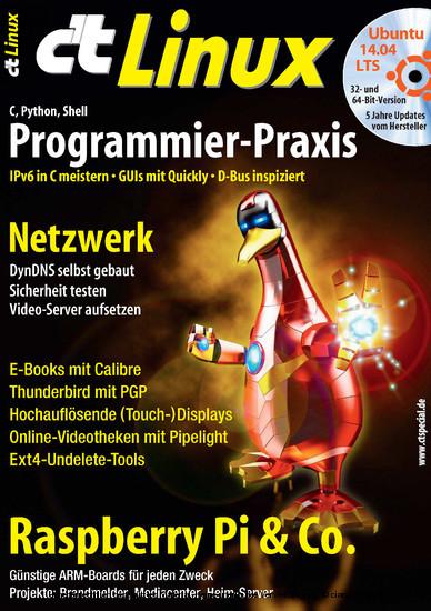 c't Linux 2014 - Blick ins Buch