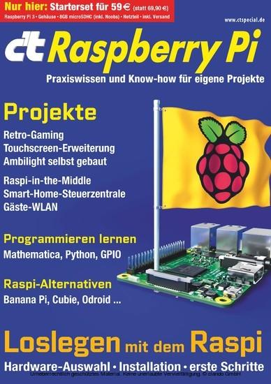 c't Raspberry Pi (2016) - Blick ins Buch