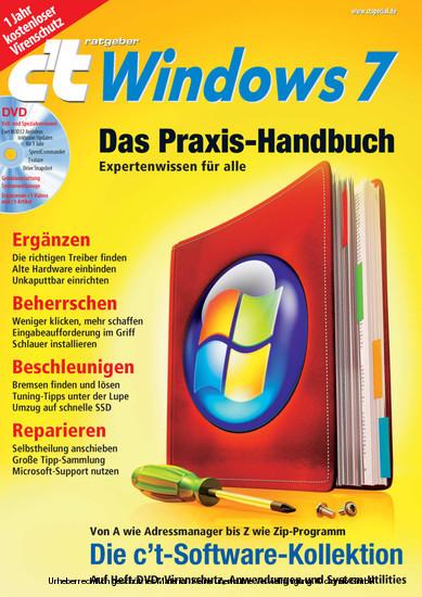 c't ratgeber Windows 7 - Blick ins Buch