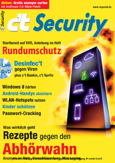 c't Security 2013 - Blick ins Buch