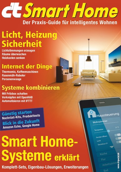 c't Smart Home (2016) - Blick ins Buch